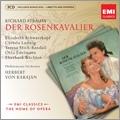 R.Strauss: Der Rosenkavalier / Herbert von Karajan, Philharmonia Orchestra, Elisabeth Schwarzkopf, etc [CD+CD-ROM]