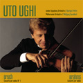 Bruch: Violin Concerto No.1; Brahms: Violin Concerto / Uto Ughi(vn), Georges Pretre(cond), London Symphony Orchestra, Wolfgang Sawallisch(cond), Philharmonia Orchestra