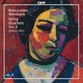 M.Weinberg: String Quartets Vol.3 - No.6, No.8, No.15 / Danel Quartett