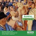 Rampal and Friends -J.L.Krebs, J.J.Quantz, W.F.Bach, Telemann, J.C.Pepusch, J.B.Loeillet (1963-64) / Jean-Pierre Rampal(fl), Mario Duschenes(fl/bfl), Kenneth Gilbert(cemb)