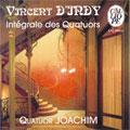D'Indy: Integrale des Quatuors / Michel Poulet(vc), Francois Mereaux(va), Joachim String Quartet, etc