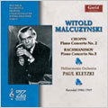 CHOPIN:PIANO CONCERTO NO.2 OP.21(11/20/1946)/RACHMANINOV:PIANO CONCERT NO.3 OP.30(4/26-27/1949):WITOLD MALCUZYNSKI(p)/PAUL KLETZKI(cond)/PHILHARMONIA ORCHESTRA
