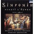 Sinfonie Avanti L'Opera Intorno a Mozart -Piccinni/Paisiello/Anfossi/etc (2006):Francesco Quattrocchi(cond)/Abruzzese Symphony Orchestra