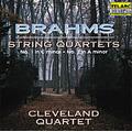 Brahms: String Quartets No.1, No.2 / Cleveland Quartet