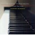 Persichetti: Complete Piano Sonatas / Geoffrey Burleson(p)