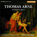 THOMAS ARNE:OVERTURES NO.1-NO.8/OVERTURE TO ALFRED/OVERTURE TO THOMAS & SALLY:S.STANDAGE(cond)/COLLEGIUM MUSICUM 90