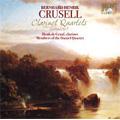 B.H.Crusell : Clarinet Quartets -Complete: No.1-No.3 / Henk de Graaf(cl), Daniel String Quartet