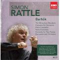 Bartok: Miraculous Mandarin Op.19 Sz.73 (1993), Concerto for Orchestra Sz.116 (1992), Piano Concertos No.1-No.3 (1990, 1992), etc  / Simon Rattle(cond), City of Birmingham SO, Peter Donohoe(p), etc