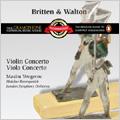 Britten: Violin Concerto Op.15; Walton: Viola Concerto / Maxim Vengerov(va/va), Mustislav Rostropovich(cond), London Symphony Orchestra