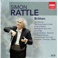 Britten: War Requiem Op.66, The Young Person's Guide to the Orchestra, Serenade Op.31, etc  / Simon Rattle(cond), City of Birmingham SO, BPO, etc<限定盤>