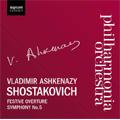 Shostakovich: Symphony No.5, Festive Overture (7/27/2001) / Vladimir Ashkenazy(cond), Philharmonia Orchestra