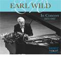 Earl Wild in Concert 1973-1987 -Weber/Chopin/d'Albert/etc