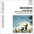 Boccherini : String Quintets with 2 Violas -Op.60-1 G.391, Op.60-5 G.395, Op.62-1 G.397 (1993) / Ensemble 415, Chiara Banchini(vn)