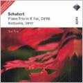 SCHUBERT:PIANO TRIO NO.1, D898/NOTTURNO D.897:SUK TRIO