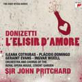 Donizetti: L'Elisir D'amore / John Pritchard, CGRO & Chorus, Ileana Cotrubas, Placido Domingo, etc