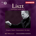 "Liszt: Symphonic Poems Vol.4 -No.9 ""Hungaria"" S.103, No.10 ""Hamlet"" S.104, No.11 ""Hunnenschlacht"" S.105, etc / Gianandrea Noseda(cond), BBC Philharmonic"