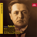 Talich Special Edition Vol.15 -Mozart:Violin Concerto No.4 K.218 (3/1955)/Clarinet Concerto K.622/etc (11/1954) :Vaclav Talich(cond)/Czech PO/etc