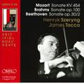 Beethoven; Brahms; Mozart: Violin Sonatas