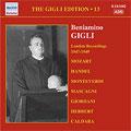"""THE GIGLI EDITION VOL.13 LONDON RECORDINGS 1947-1949:MOZART:DAS VEILCHEN/GODARD:""""JOCELYN""""CACHES DANS CET ASILE [BERCEUSE]/ETC:RAINALDO ZAMBONI(cond)/VITO CARNEVALI(cond)/STUDIO ORCHESTRA/BENIAMINO GIGLI(T)"""