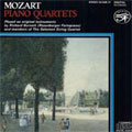 MOZART:PIANO QUARTETS K.478/K.493:RICHARD BURNETT(fp)/SALOMON STRING QUARTET MEMBERS
