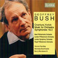 G.Bush: Overture 'Yorick', Music For Orchestra Symphony No.1, 2 'Guildford' / Vernon Handley(cond), Philharmonia Orchestra