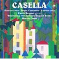 A.Casella: Scarlattiana Op.44, Triple Concerto Op.56 / Marzio Conti(cond), Orchestra del Teatro Regio di Torino, Paolo Restani(p), Stefano Vagnarelli(vn), etc