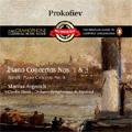 Prokofiev: Piano Concertos No.1 Op.10, No.3 Op.26; Bartok: Piano Concerto No.3 Sz.119 (10/1997) / Martha Argerich(p), Charles Dutoit(cond), Montreal SO
