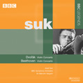 Dvorak: Violin Concerto Op.53 B.108; Beethoven: Violin Concerto Op.61 / Josef Suk, Malcolm Sargent, BBC SO