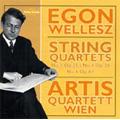E.Wellesz: String Quartets No.3 Op.25, No.4 Op.28, No.6 Op.64 (12/11-13/2005) / Artis-Quartett Wien