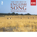Very Best of English Song With Orchestra / Various Artists