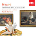 Mozart: Symphony no 36 & 40 / Marriner, et al