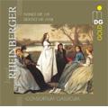 J.G.Rheinberger: Sextet Op.191b (12/2006)/Nonet Op.139 (3/2006):Consortium Classicum