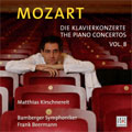 Mozart:Piano Concertos Vol.8:No.24/16:M.Kirschnereit(p)/F.Beermann(cond)/Bamberg So