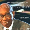 G.Walker: Address for Orchestra, Overture, Sinfonia No.1, No.3, etc /  Ian Hobson, Sinfonia Varsovia