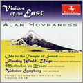 Visions of the East - A.Hovhaness: Ode to the Temple of Sound, Symphony No.10, Floating World, etc / Chung Park, Frost SO