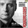 Shostakovich: Symphony No.10 Op.93; Tormis: Overture No.2 / Paavo Jaervi, Cincinnati Symphony Orchestra