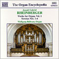 Rheinberger: Organ Works, Vol 1