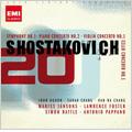 Shostakovich: Symphony No.1 Op.10, Piano Concerto No.2 Op.102, String Quartet No.8 Op.110, etc