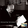Beethoven: Piano Concerto No.1 Op.15 (1/19/1958); Mendelssohn: Piano Concerto (2/24/1962), etc / Mieczyslaw Horszowski(p), Mauritz van den Berg(cond), Netherlands Radio Chamber Orchestra, etc