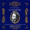 Puccini: La Boheme / Umberto Berretoni, Orchestra Filarmonica della Scala, Beniamino Gigli, Licia Albanese, etc