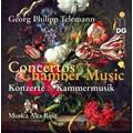 G.P.Telemann: Concertos & Chamber Music / Musica Alta Ripa