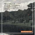 Dietrich: Symphony Op.20, Violin Concerto, Introduction & Romance Op.27 / Elizabeth Kufferath(vn), Marie Luise Neunecker(hrn), Alexander Rumpf(cond), Oldenburg State orchestra