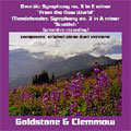 Symphonies for 4 Hands - Dvorak: Symphony No.9; Mendelssohn: Symphony No.3 / Goldstone and Clemmow