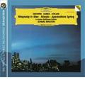 Gershwin:Rhapsody in Blue; Barber: Adagio Op.11; Copland: Appalachian Spring (7/1982) / Leonard Bernstein(p/cond), LAPO