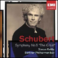 "SCHUBERT:SYMPHONY NO.9 ""THE GREAT"" (6/2005):SIMON RATTLE(cond)/BPO"