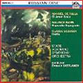 Falla: El Amor Brujo; Ravel: Rapsodie Espagnole; Debussy: Iberia