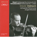 モーツァルト: ヴァイオリン協奏曲第5番、ショスタコーヴィチ: ヴァイオリン協奏曲第1番