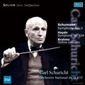 "Haydn: Symphony No.104 ""London""; Brahms: Violin Concerto Op.77; Schumann: Symphony No.2 Op.61 / Carl Schuricht, Orchestre National de France, Henryk Szeryng"