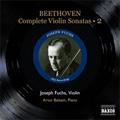 Beethoven: Complete Violin Sonatas Vol.2 - No.5-7 (1952) / Joseph Fuchs(vn), Artur Balsam(p)