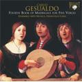 C.Gesualdo: Fourth Book of Madrigals for Five Voices / Francesco Cera(cond), Ensemble Arte Musica